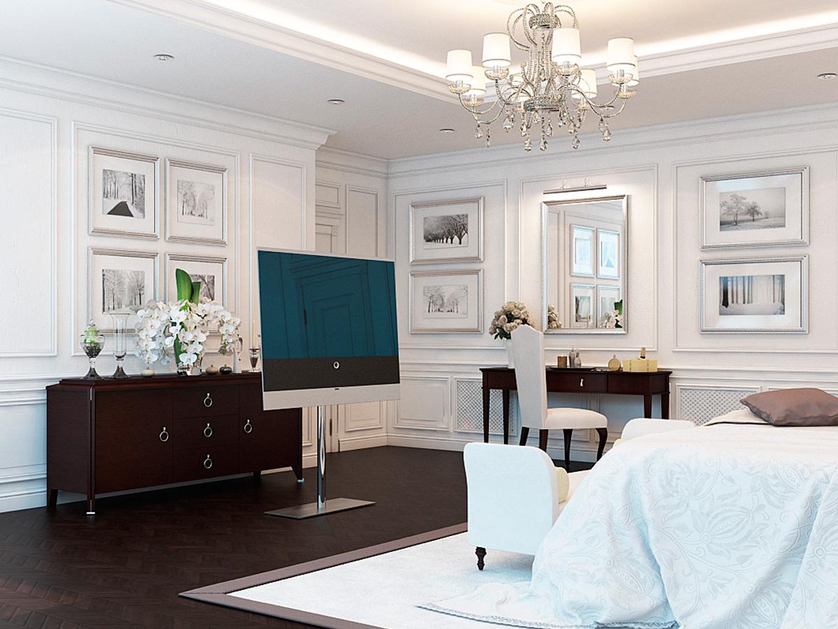 Clean & Luxury Bedroom